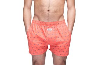 Foto van Pockies Booty Boxershort Red Blue