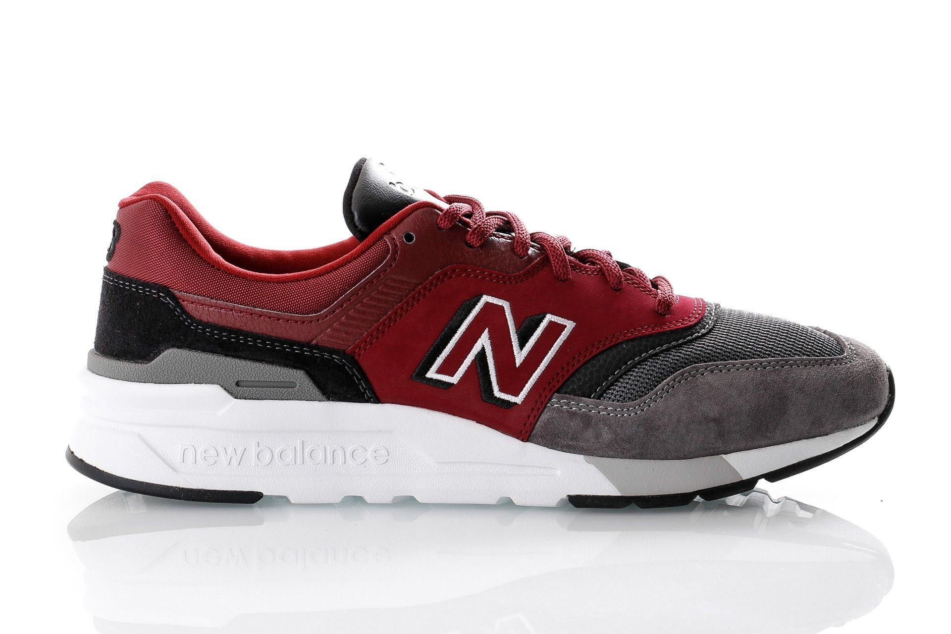 Afbeelding van New Balance Sneakers CM997HEL Red/Black (640) 774451-60