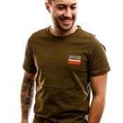 Columbia T-Shirt M Rapid Ridge Back Graph-New Olive CSC L New Olive CSC Leafscape 1888863