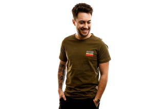 Foto van Columbia T-Shirt M Rapid Ridge Back Graph-New Olive CSC L New Olive CSC Leafscape 1888863