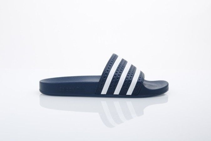 Afbeelding van Adidas Originals 288022 Slide Sandal Adilette Adicolor Const Blue/White