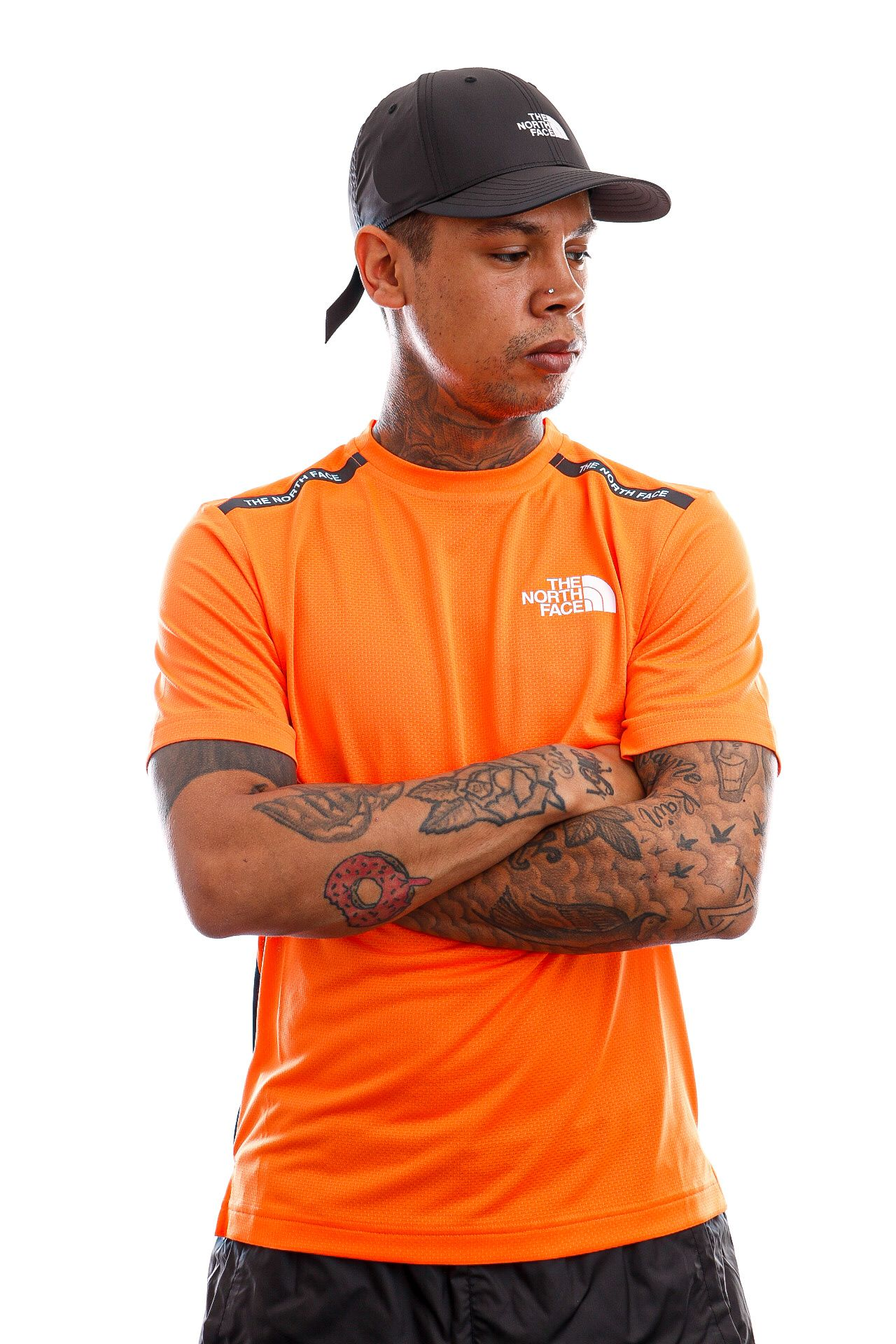 Afbeelding van The North Face T-shirt Mens MA S/S Tee Shocking Orange NF0A5578BEH1
