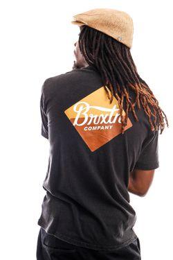 Afbeelding van Brixton T-shirt Covet S/S STT Black 16296