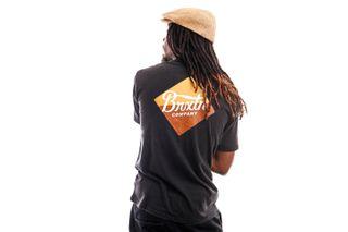 Foto van Brixton T-shirt Covet S/S STT Black 16296