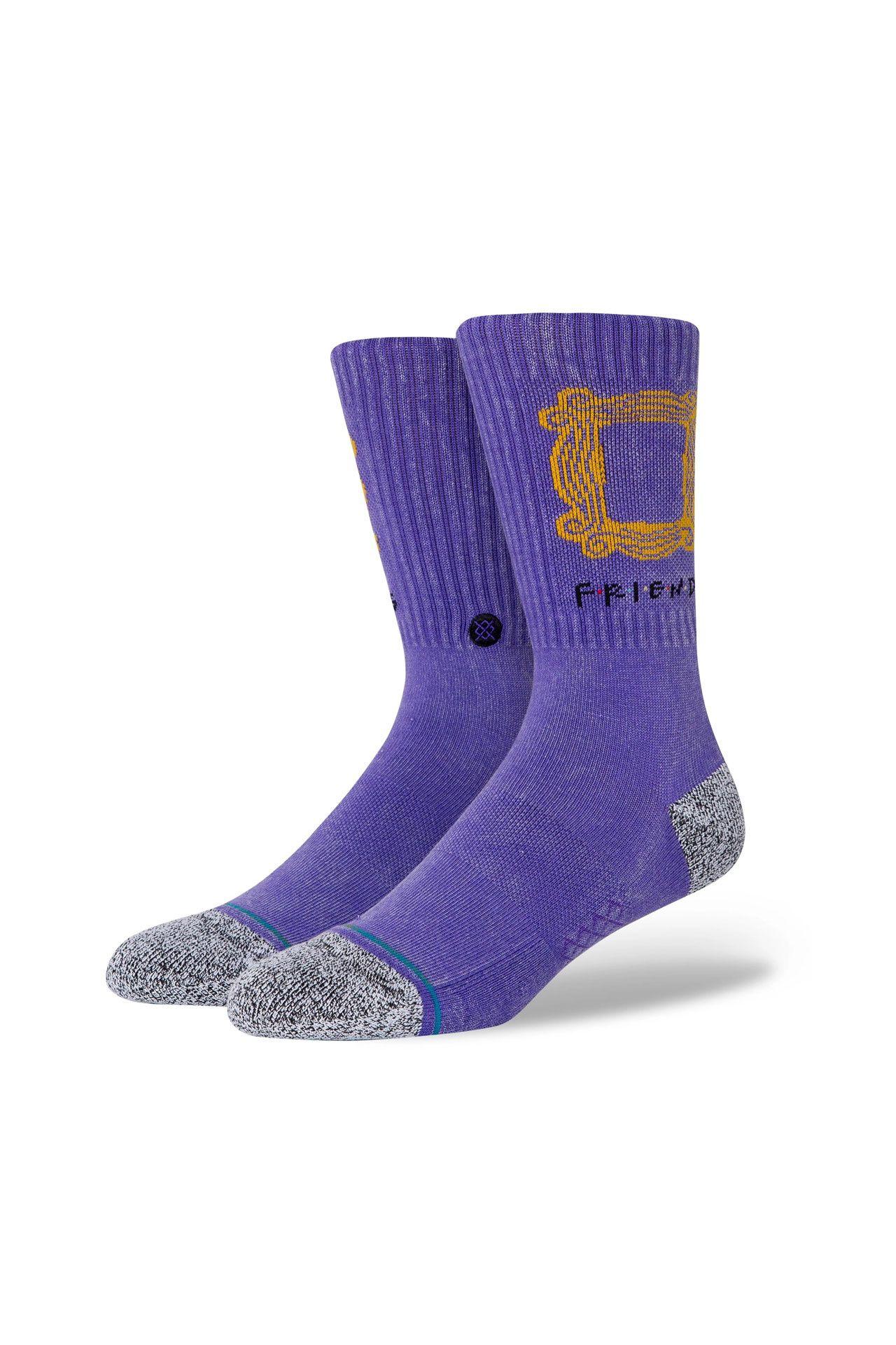 Afbeelding van Stance Sokken THE ONE WITH THE Purple A556D20TOT