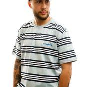 Woodbird T-shirt Olei Stripe Tee Mint-Navy-White 2026-410