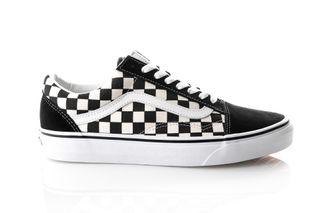 Foto van Vans Ua Old Skool Vn0A38G1P0S Sneakers (Primary Check) Black/White