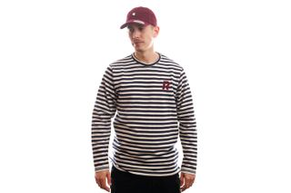 Foto van Reell Jeans Longsleeve Striped Longsleeve Navy/White 1303-003
