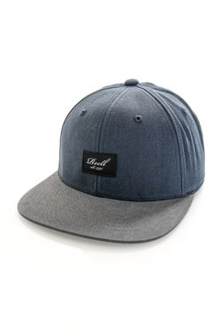Afbeelding van Reell Jeans Snapback Pitchout Navy / Charcoal 1402-041