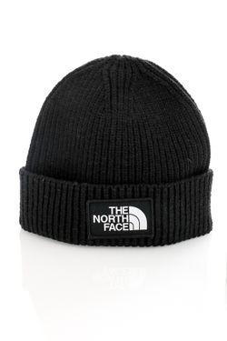 Afbeelding van The North Face Muts TNF LOGO BOX CUF BNE SHT Tnf Black NF0A3FJXJK31
