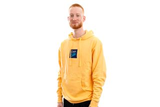 Foto van The Quiet Life Hoodie Miami Logo Embroidered Hood Peach QL-21SPD1-1117