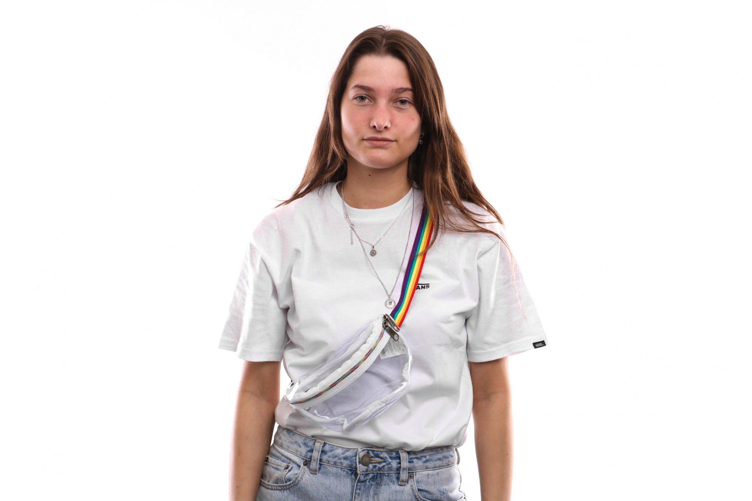 Afbeelding van Eastpak Springer Ek07472Z Heuptas Rainbow Glass