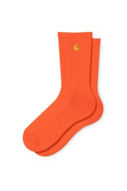 Afbeelding van Carhartt Sokken Chase Socks Safety Orange / Gold I026527