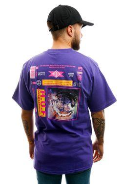 Afbeelding van HUF T-shirt Fidelity S/S Tee Grape TS01108-GRAPE