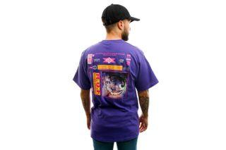 Foto van HUF T-shirt Fidelity S/S Tee Grape TS01108-GRAPE