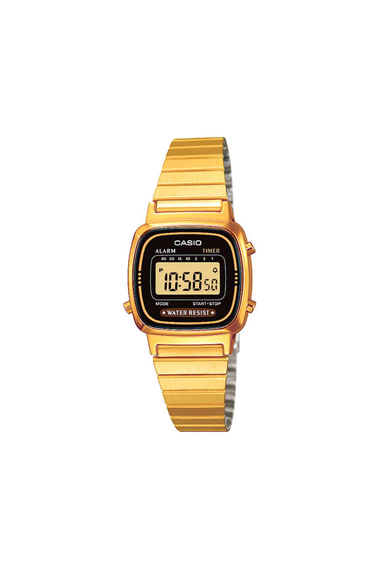 Afbeelding van Casio Vintage La670Wega-7Ef Watch La670Wega Goud