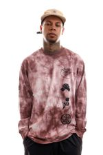 Carhartt Longsleeve L/S Tab T-Shirt Chromo, Malaga / Black I028933