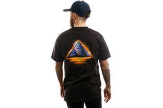 Foto van HUF T-shirt Ancient Aliens S/S Tee Black TS01009-BLACK