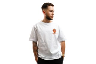 Foto van Dickies T-shirt Schriever Tiger T-Sirt White DK0A4X6TWHX1