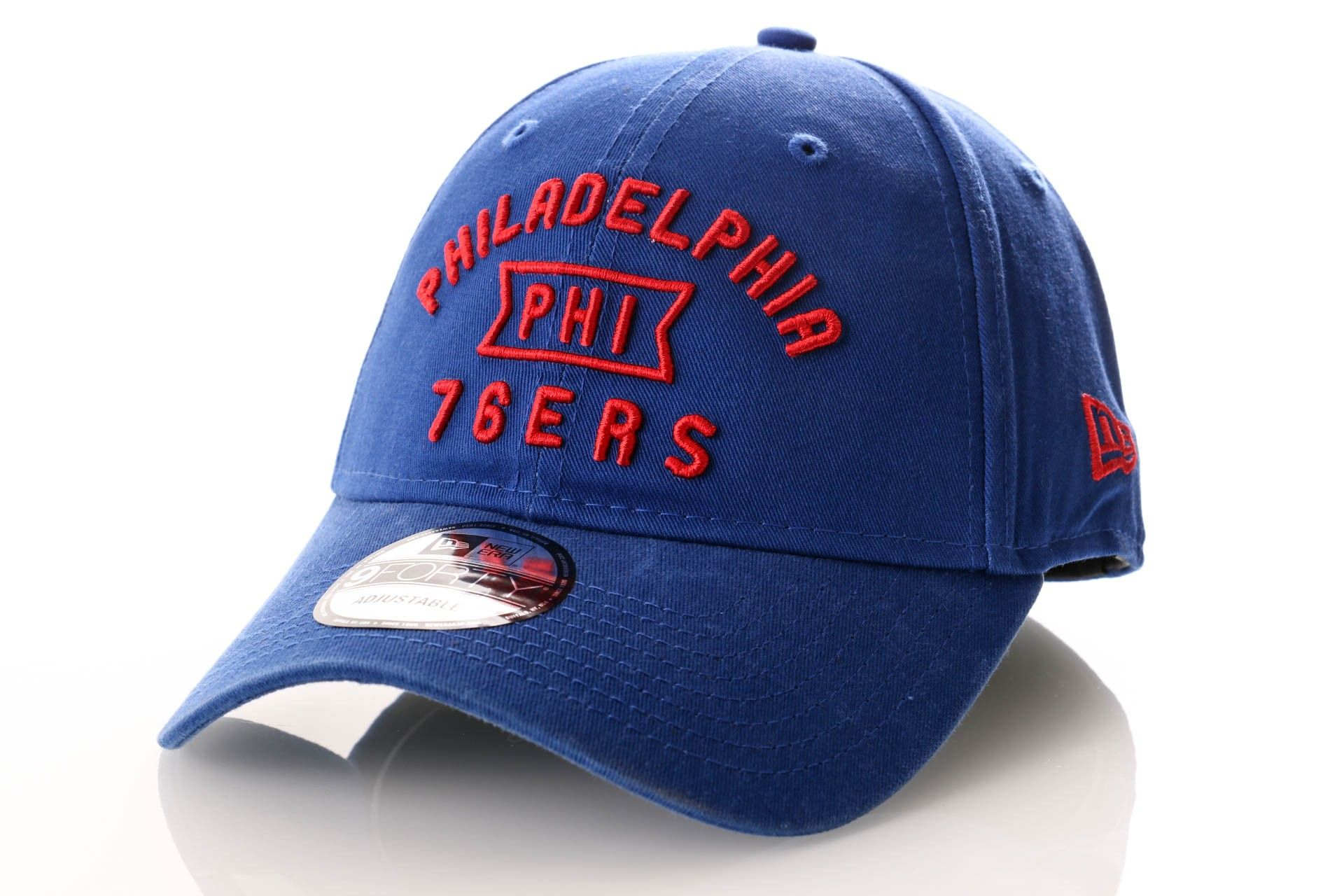 Afbeelding van New Era Dad Cap Philadelphia 76ers Vintage Team Front 9Forty 12040178