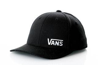 Foto van Vans Kids Vnqv-Blk Flexfit Cap Splitz Zwart
