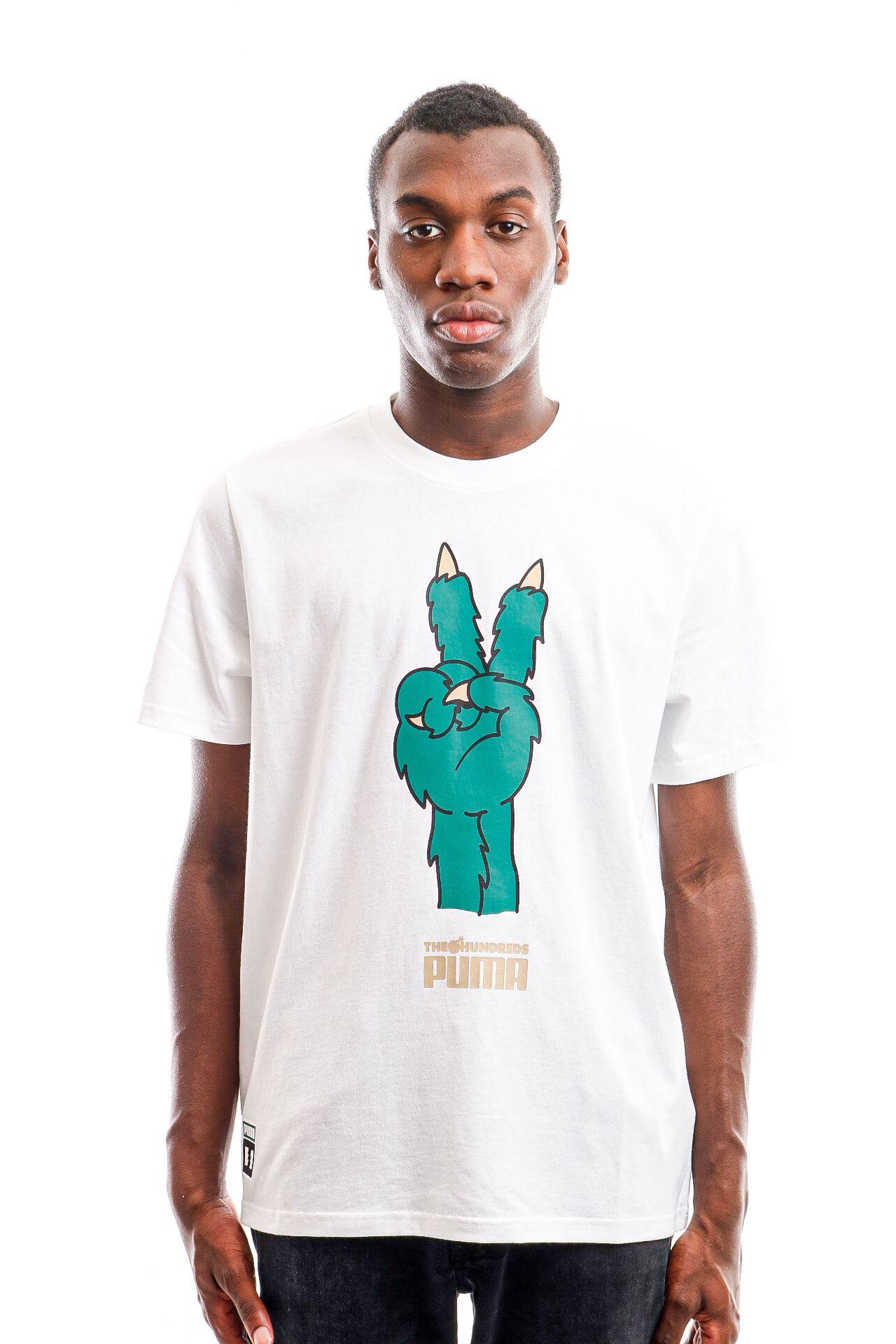 Afbeelding van Puma T Shirts PUMA x TH Tee Puma White 59831401