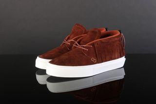 Foto van Clear Weather Crw-101-Hen Sneakers One-O-One Henna Suede