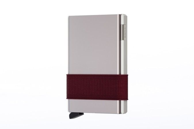 Afbeelding van Secrid Cs Wallet Cardslide White-Bordeaux