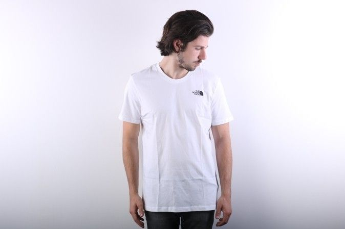 Afbeelding van The North Face - T-Shirt Simple Dome Tnf White T92Tx5-Fn4