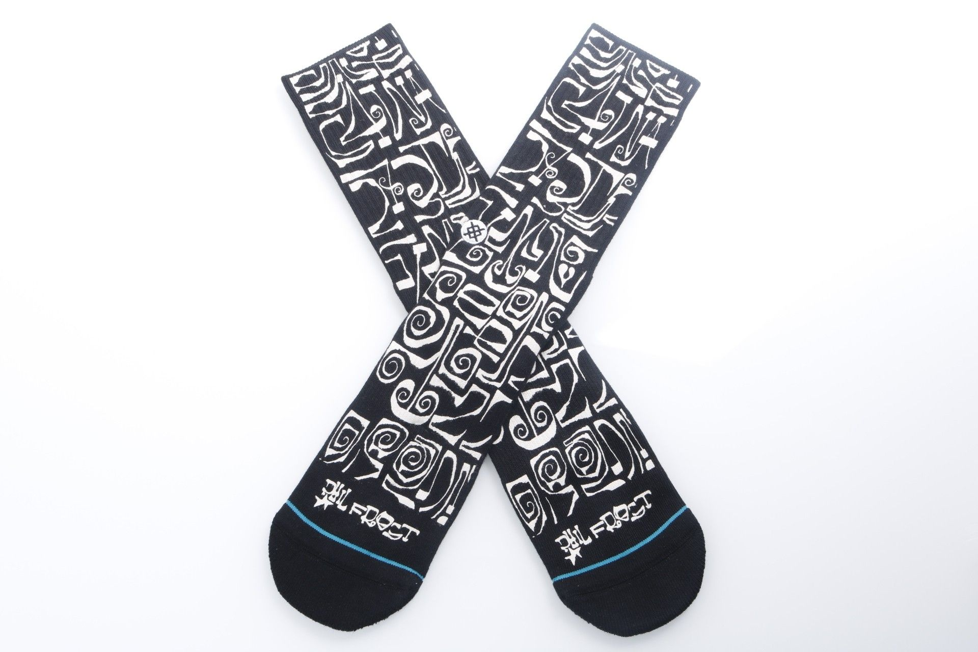 Afbeelding van Stance M556A18Fro Socks Frost Letters Zwart