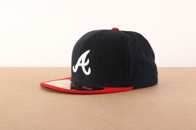 Afbeelding van New Era Fitted Cap Atlanta Braves Authentic Atlanta Braves 10010240