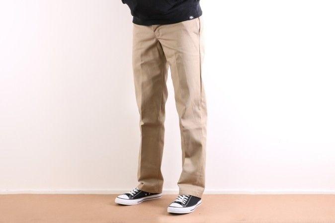Afbeelding van Dickies Workwear DK0WP873KHK1 Chino Slim Straight Khaki