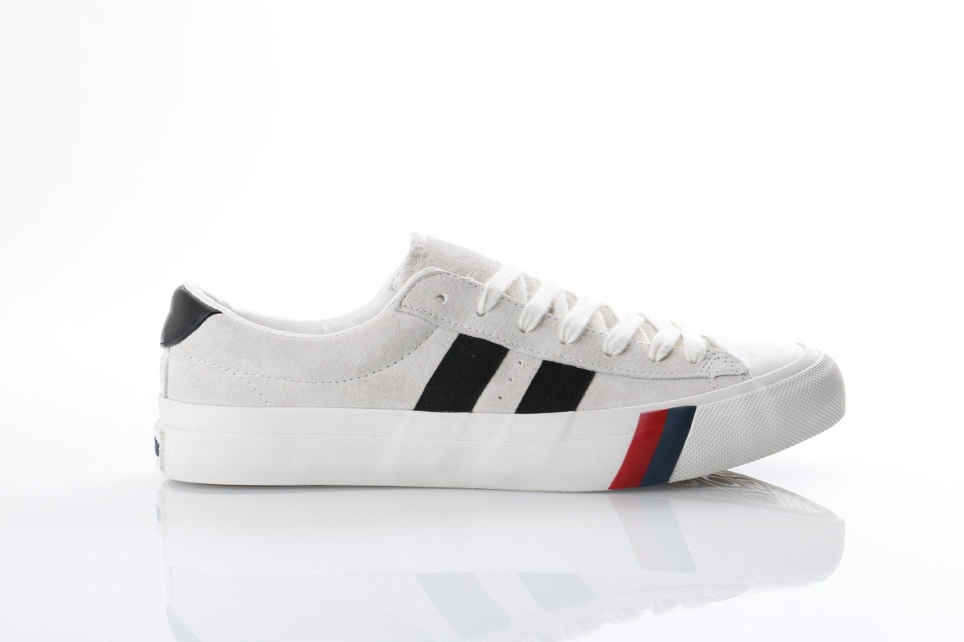 Afbeelding van Pro-Keds Ph56803 Sneakers Royal Plus Suede Cream Wit
