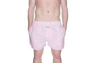 Foto van Pockies Boxershort Pink Stripes Pink