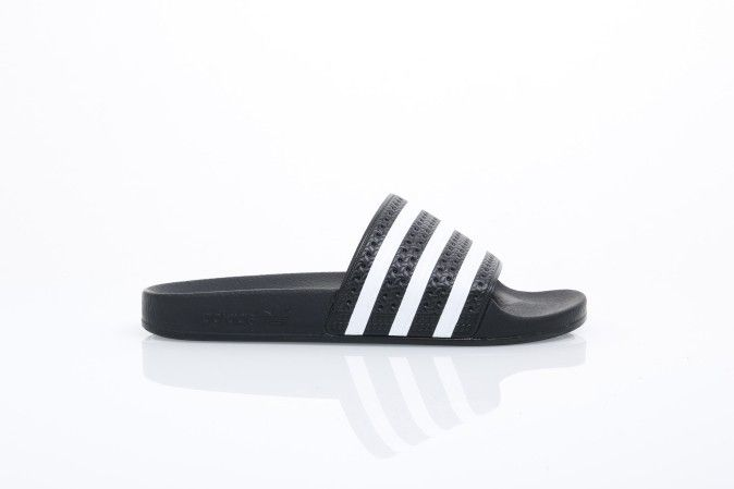 Afbeelding van Adidas Originals 280647 Slide Sandal Adilette Adicolor Const Black/White