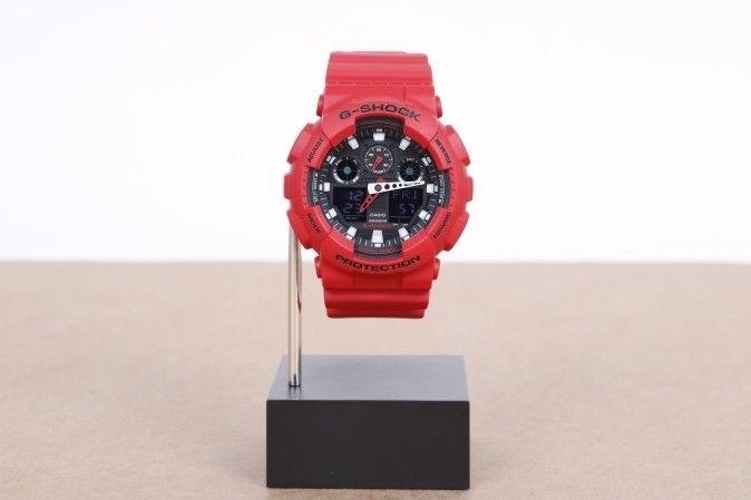 Afbeelding van Casio G-Shock Ga-100B-4Aer Watch Ga-100B Rood