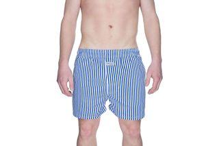 Foto van Pockies Boxershort Navy Stripes Blue
