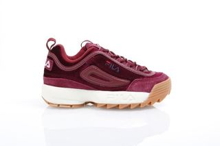 Foto van Fila Ladies 1010305-40I Sneakers Disruptor V Low Rood