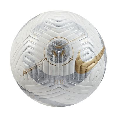 Foto van Nike Premier League Strike Voetbal White Silver Gold