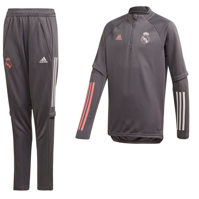 Afbeelding van Real Madrid Trainingsset Kids Grey Five
