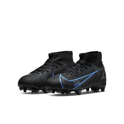 Foto van Nike Mercurial Superfly 8 Academy FG Kids Black Iron Grey