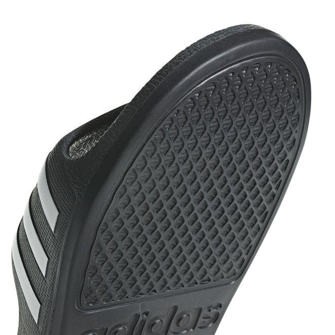 Afbeelding van Adidas Adilette Aqua Slippers Black-White Kids