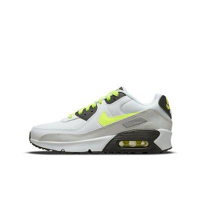 Foto van Nike Air Max 90 Kids Leather White Volt