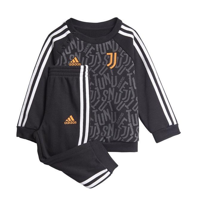 Afbeelding van Juventus 3-Stripes Baby Joggingpak Black