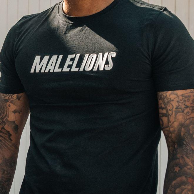 Afbeelding van Malelions T-Shirt Nium Black
