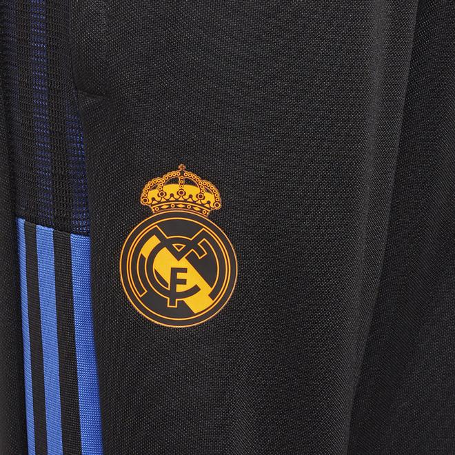 Afbeelding van Real Madrid Trainingsset Kids Black