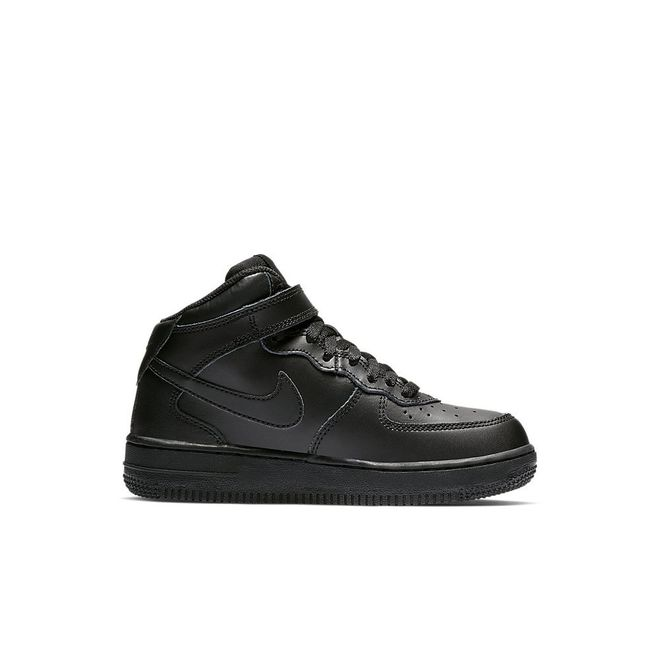 Afbeelding van Nike Air Force 1 Mid Kids Black
