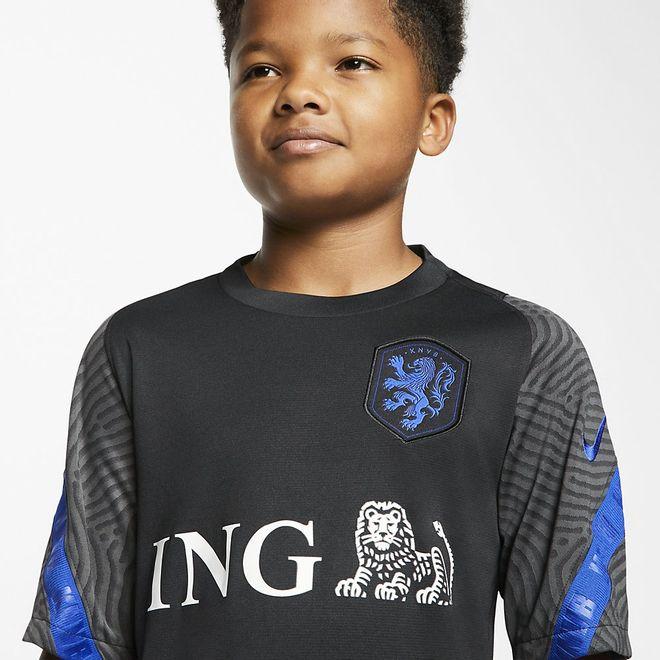 Afbeelding van Nederlands Elftal Strike Short Set Kids Zwart