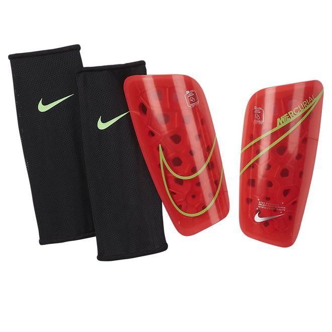 Afbeelding van Nike Mercurial Lite Scheenbeschermers Bright Crimson