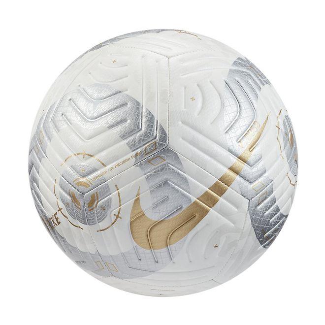 Afbeelding van Nike Premier League Strike Voetbal White Silver Gold